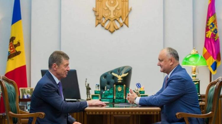 Voronin și Dodon s-au întâlnit cu Dmitrii Kozak! Liderul PSRM a dezvăluit despre ce a fost întrevederea