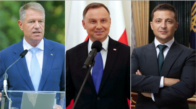Iohannis, Duda și Zelenski. Trei președinți de țară vor fi la Chișinău de Ziua Independenței!