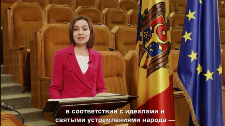 (VIDEO) Mesajul Maiei Sandu de Ziua Independenței! Să trăiți, dragi concetățeni! La mulți ani, Republica Moldova!