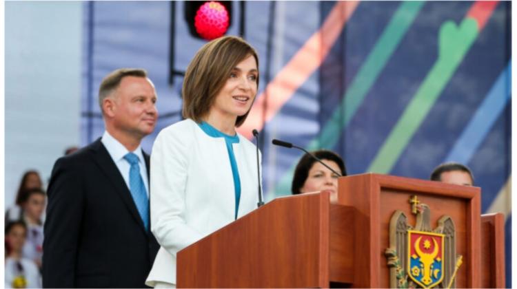 Promisiunile făcute de Maia Sandu cetățenilor de pe scena din PMAN, în fața celor trei președinți străini