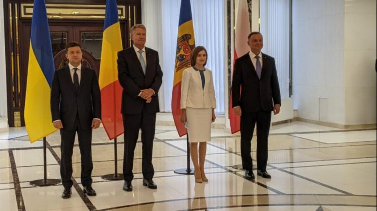 (VIDEO/FOTO) Ce le-au urat moldovenilor la 30 de ani de independență Sandu, Iohannis, Zelenski și Duda