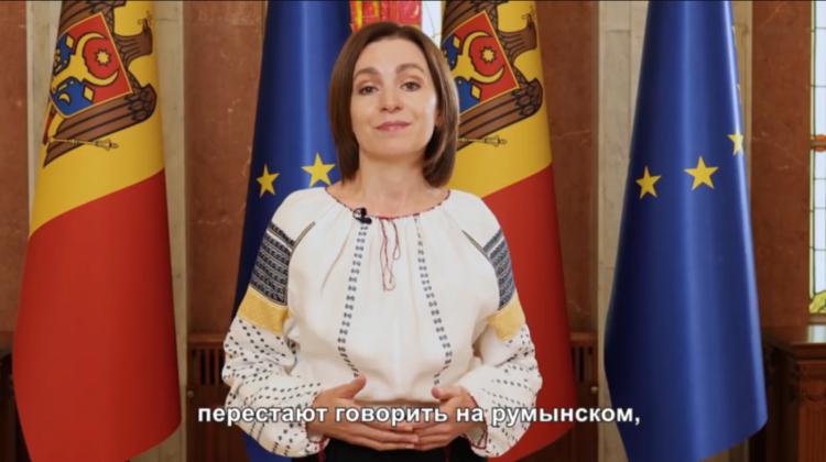 (VIDEO) Mesajul Președintei țării, Maia Sandu de Ziua Limbii Române. Care sunt cuvintele ei preferate