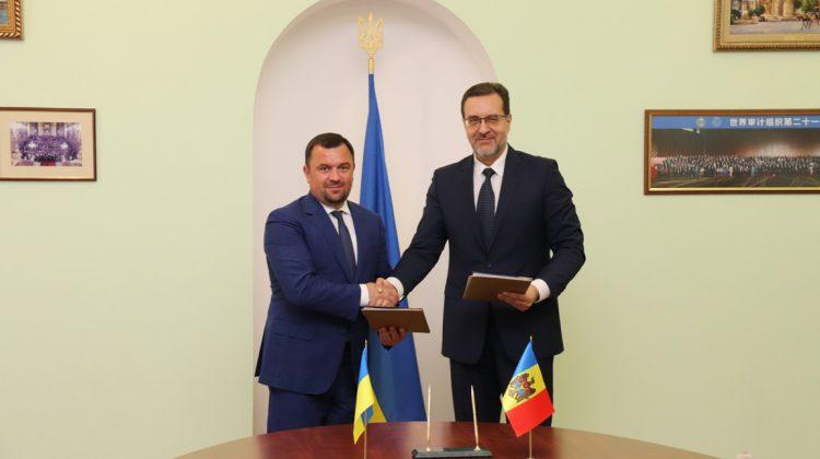Instituțiile supreme de audit din Ucraina și Moldova și-au actualizat cooperarea prin semnarea unui nou acord bilateral