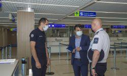 Cine este noul șef al SPF Aeroportul Internațional Chișinău? A fost prezentat efectivului de Rosian Vasiloi