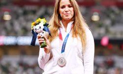 O atletă și-a scos la licitație medalia obținută la Jocurile Olimpice! A strâns 44.000 de euro pentru o cauză nobilă