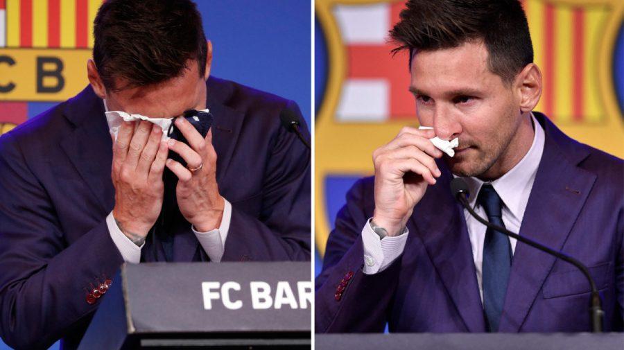Șervețelul cu lacrimi de-ale lui Messi, după despărțirea de Barcelona, scos la vânzare. Cere o sumă uriașă