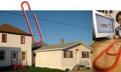Povestea unui șomer din Canada care a schimbat o agrafă pentru o casă cu 2 etaje. FOTO cu întregul traseu