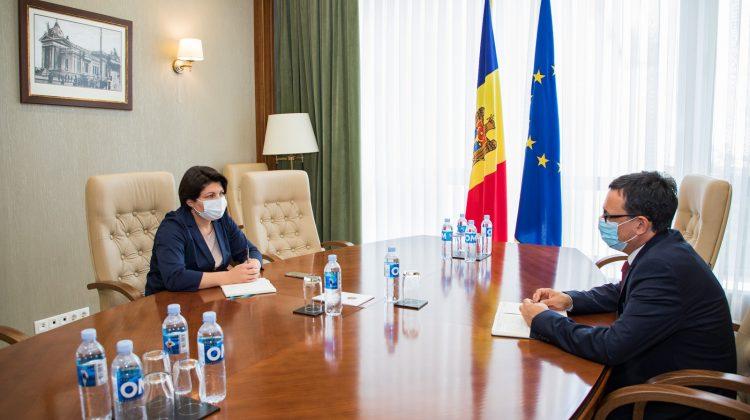Natalia Gavrilița a avut o ședință de lucru cu Guvernatorul Băncii Naționale, Octavian Armașu. Despre ce au discutat