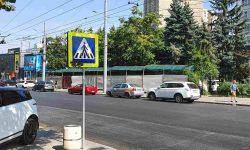 Primăria vine cu precizări referitor la pavilionul de flori amplasat în preajma pieței din strada Ion Creangă (Flacăra)