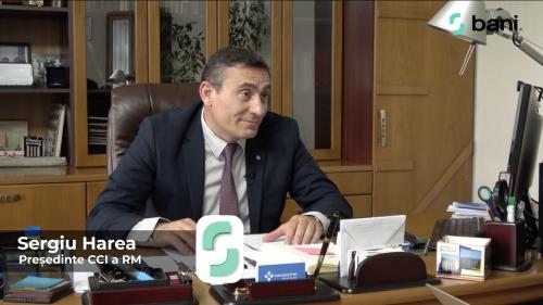 Sergiu Harea, președinte CCI: Sunt mai multe proiecte în susținerea antreprenorilor care trebuie aprobate (VIDEO)