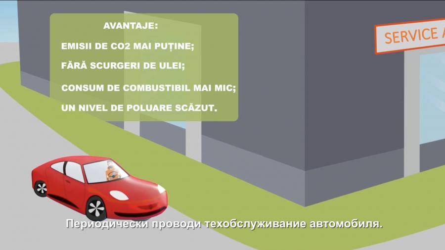 AEE informează cum să conducem eficient un automobil (VIDEO)