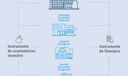 INFOGRAFIC: Care este structura Sistemului Financiar în Republica Moldova