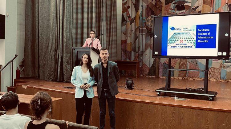EA este studenta care va beneficia de bursă din salariul profesorului de la ASEM, Ion Faina