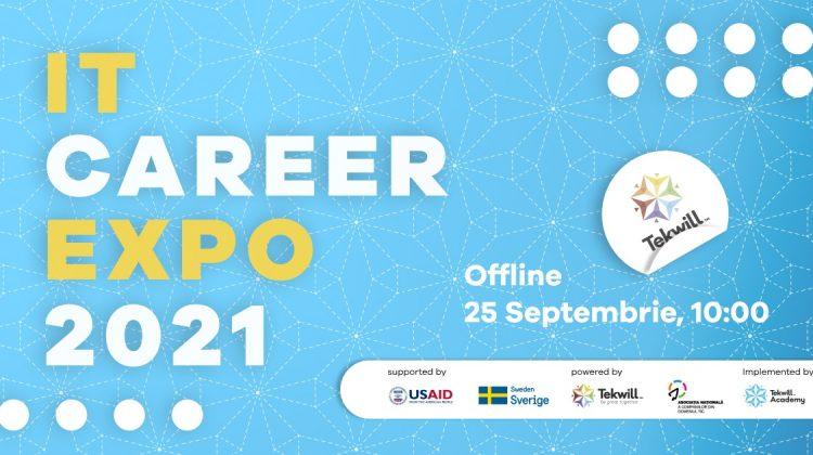 """Târg de orientare în cariera IT  """"IT Career Expo 2021"""". Când va avea loc și posibilitățile participanților"""