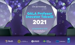 """A fost lansată """"Gala Profesor Inovator Tekwill"""". Premii – Certificat de Excelență și laptop performant"""
