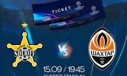START VÂNZĂRI! Biletele pentru meciul Sheriff – Shakhtar sunt deja disponibile, GRĂBIȚI-VĂ