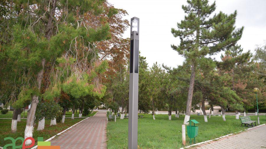 Sistem autonom de iluminat instalat în orașul Telenești implementat cu suportul AEE