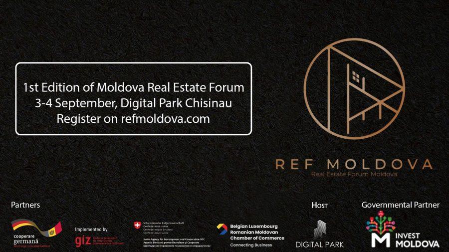 PARTICIPĂ la Real Estate Forum – primul forum internațional dedicat sectorului imobiliar din Republica Moldova