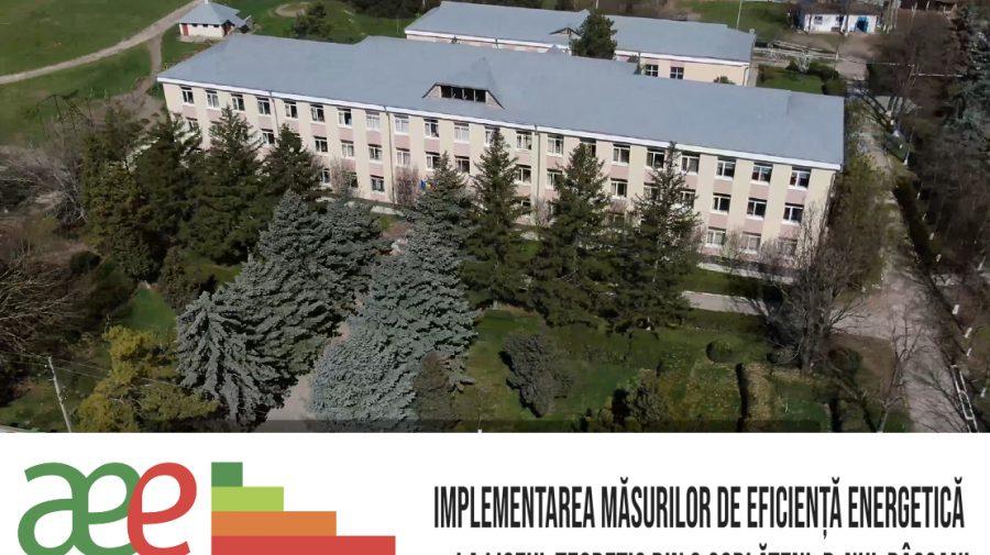 """VIDEO Istorie de succes: Măsuri de eficiență energetică pentru clădirea IPLT """"Victor Dumbrăveanu"""", din satul Corlăteni"""