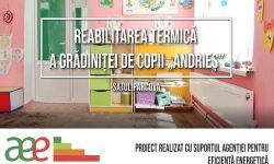 """Condiții mai bune pentru Grădinița de copii """"Andrieș"""", satul Parcova, raionul Edineț. A avut loc reabilitarea termică"""