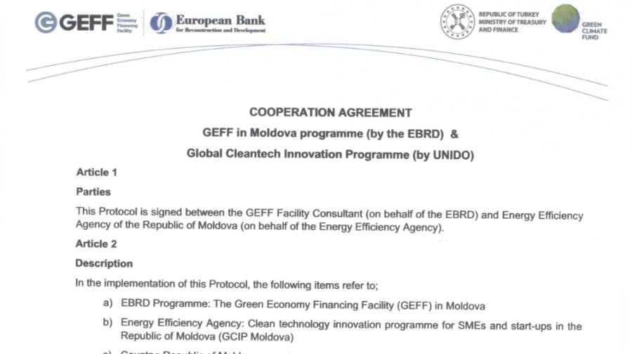 AEE va colabora cu Facilitatea de Finanțare a Economiei Verzi a BERD pentru a promova energia regenerabilă