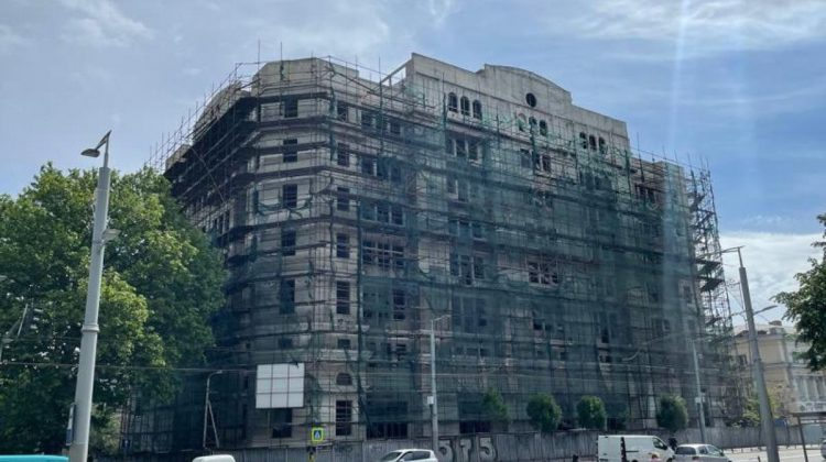 Mold-street: Palatulul lui Stati, părăsit, din centrul Chișinăului a fost vândut. Cine este cumpărătorul