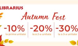 Autumn Fest la Librarius! Reduceri de până la 30% la tot sortimentul