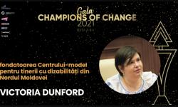 Victoria Dunford, despre cum e să împlinești visul copiilor cu nevoi speciale de a trăi într-o lume fără scări