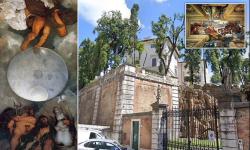 """Vila de 547 de milioane $ cu singura pictură murală Caravaggio din lume, scoasă la licitație. Ce """"comori"""" ascunde"""