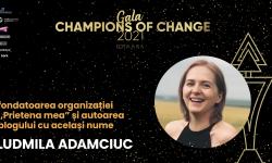 """Ludmila Adamciuc, mamă activă: """"Observ un proces frumos de schimbare a atitudinii ce vizează nu doar Sindromul Down"""""""