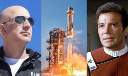 William Shatner va zbura în spațiu în această lună. Va călători cu capsula miliardarului Jeff Bezos