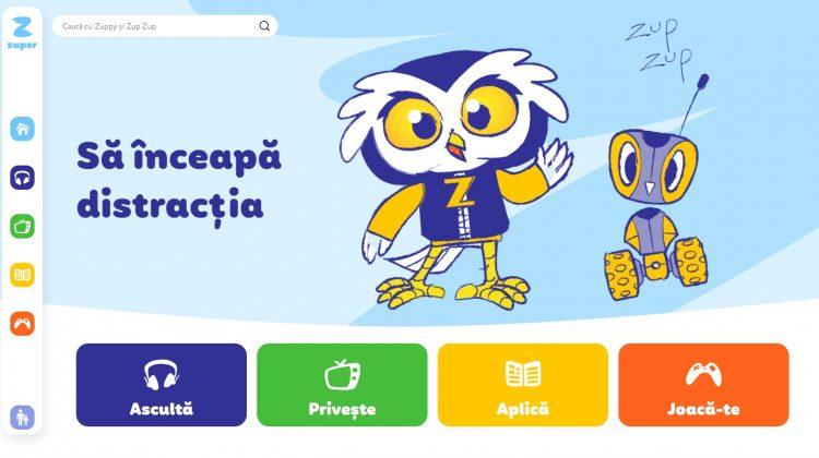 Zuper.md – prima platformă multimedia pentru copiii de la 5 la 10 ani