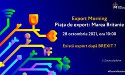 Export Morning: Exportatorii din Moldova invitați să descopere potențialul Pieței Britanice. Există export după BREXIT?