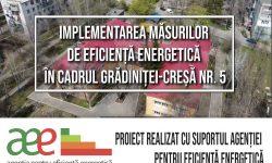 Istorie de succes: Măsuri de eficiență energetică pentru grădinița-creșă nr.5 din orașul Rezina