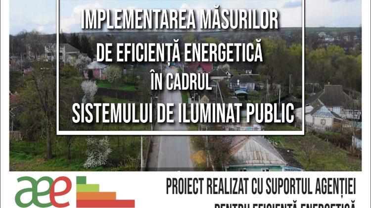 Localitatea Șestaci din raionul Șoldănești se va bucura de sistem de iluminat stradal modernizat