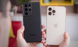 (VIDEO) Ce se întâmplă dacă scapi din mână un iPhone 13 Pro Max? Galaxy S21 Ultra vs cel mai scump iPhone al momentului