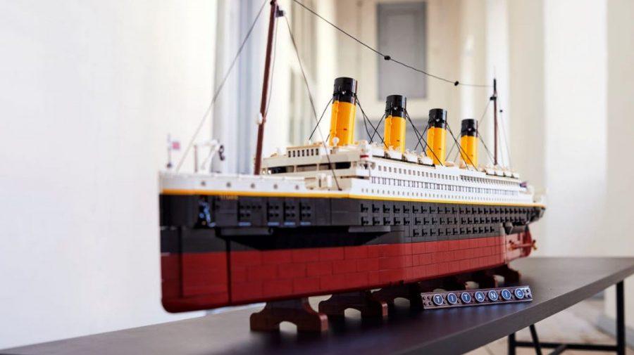 (FOTO/VIDEO) O machetă a vasului Titanic, cel mai mare Lego lansat vreodată. Care este prețul anunțat