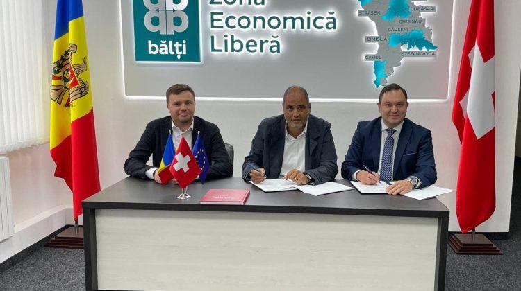 """În subzona Ștefan Vodă a ZEL """"Bălți"""" va fi construită o fabrică cu investiții elvețiene. Noi locuri de muncă"""