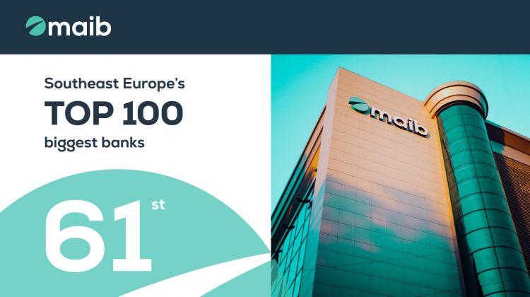 Maib – cea mai performantă bancă din Moldova în anul 2020 potrivit SeeNews